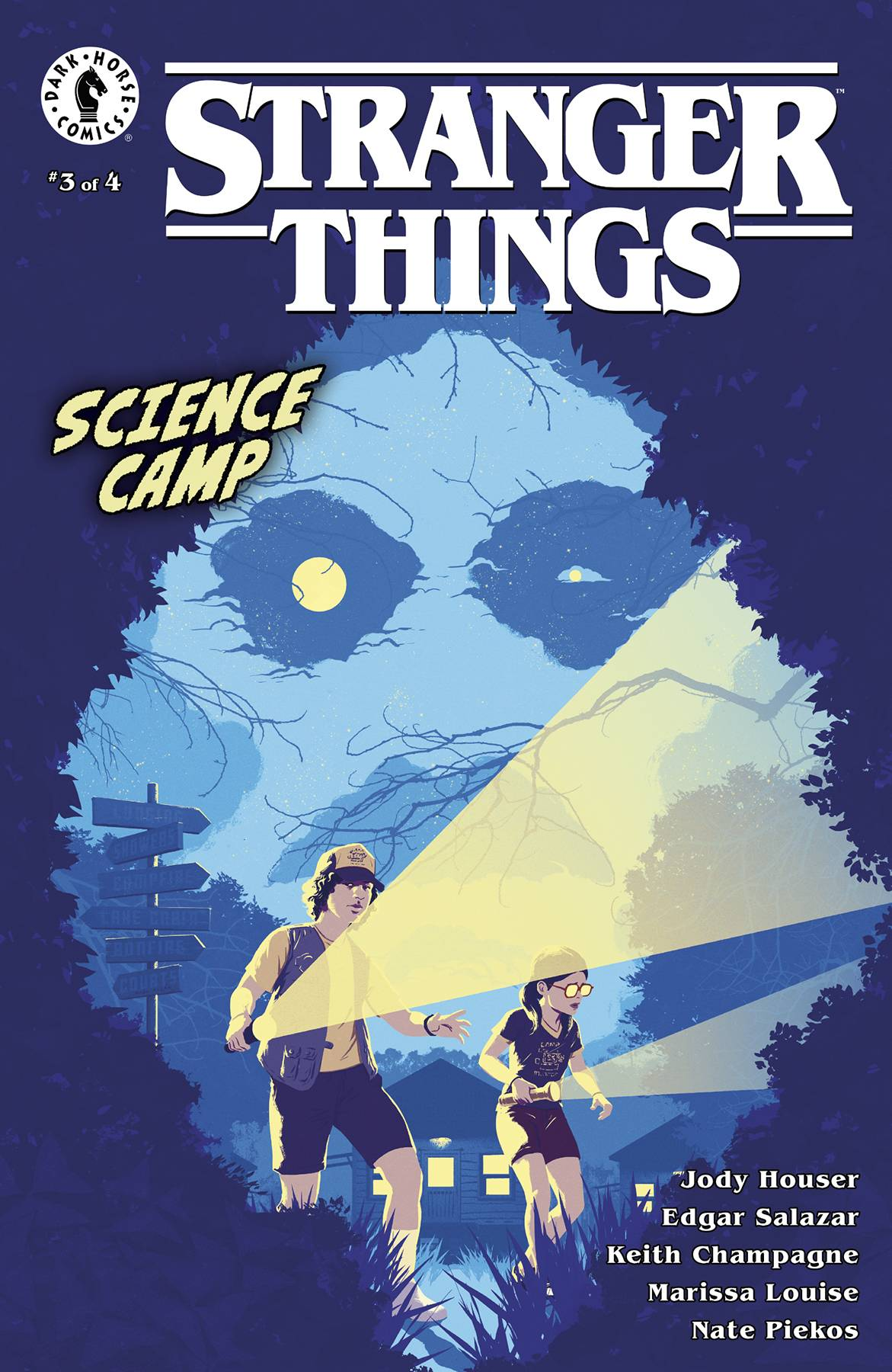 STRANGER THINGS SCIENCE CAMP