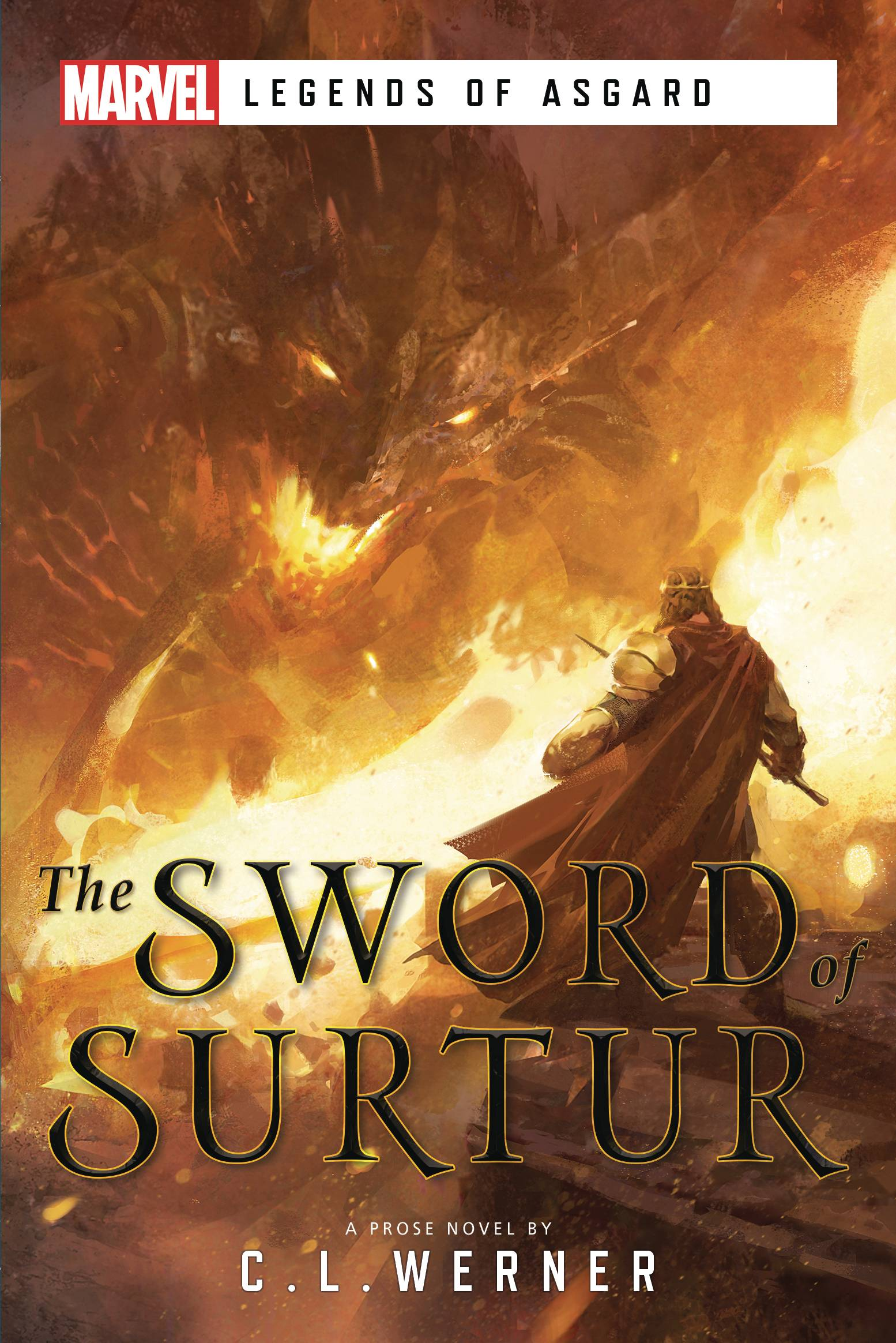 MARVEL UNTOLD NOVEL SC SWORD OF SURTUR