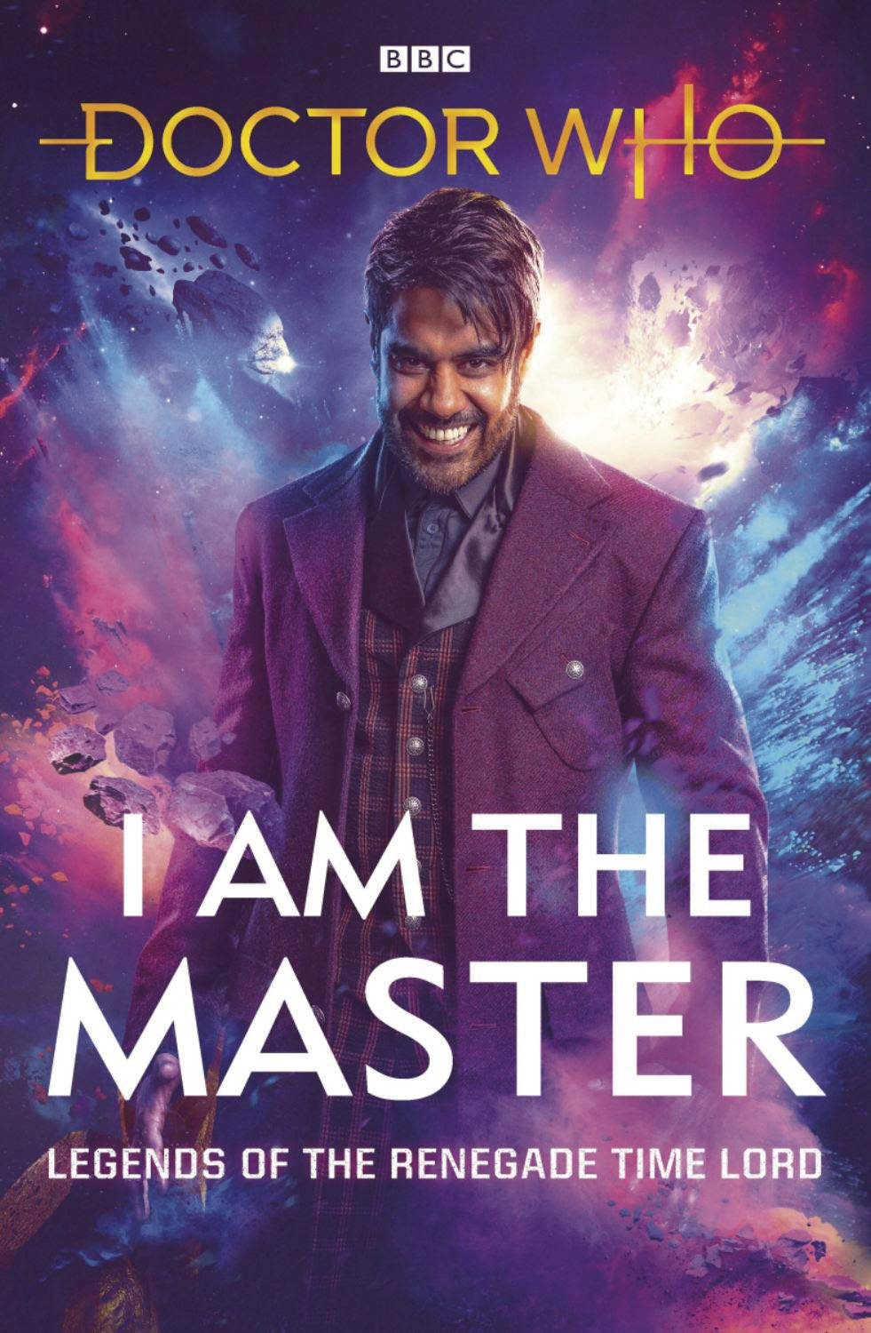 DOCTOR WHO I AM THE MASTER HC