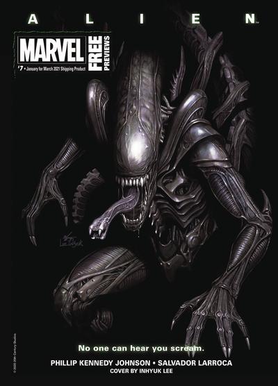MARVEL PREVIEWS VOL 05 #9 MARCH 2021 EXTRAS