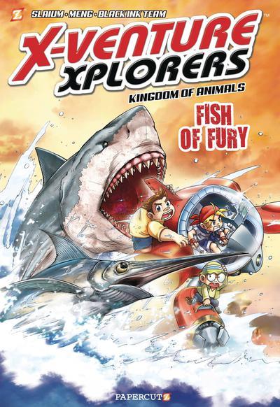 X-VENTURE XPLORERS HC 03 FISH OF FURY