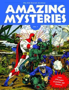 AMAZING MYSTERIES BILL EVERETT ARCHIVES HC 01