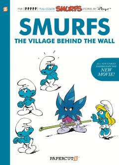 SMURFS THE VILLAGE BEHIND THE WALL HC 01