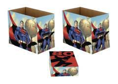 DC SUPERMAN 80 5PK SHORT COMIC STORAGE BOX