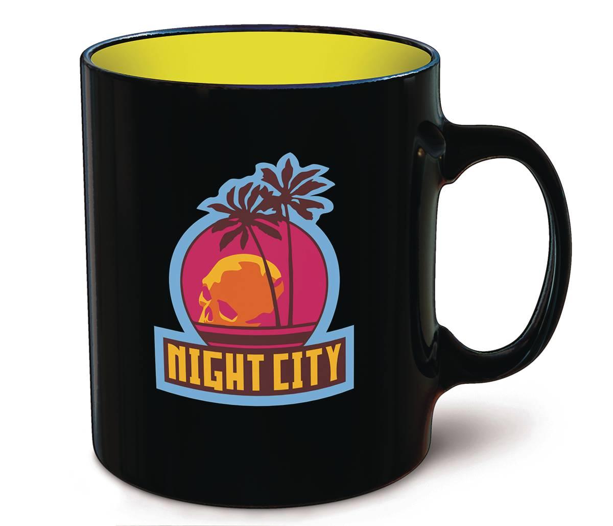 CYBERPUNK 2077 NIGHT CITY MUG