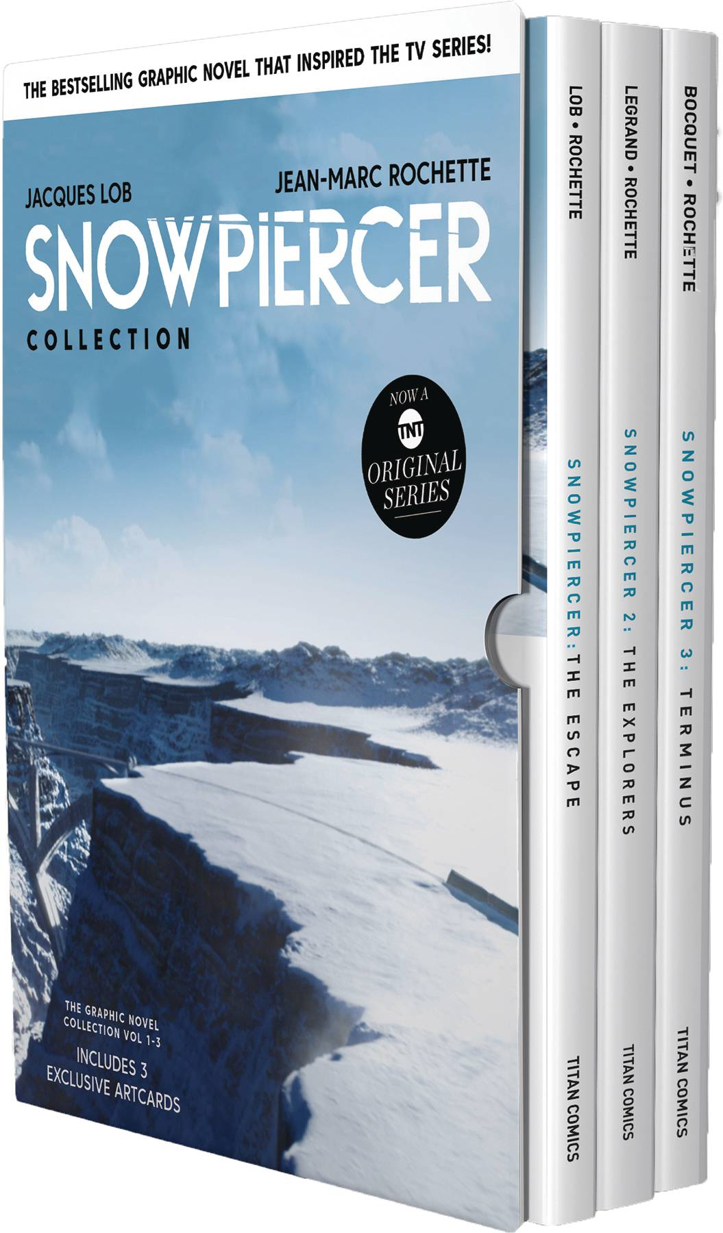 SNOWPIERCER HC BOX SET