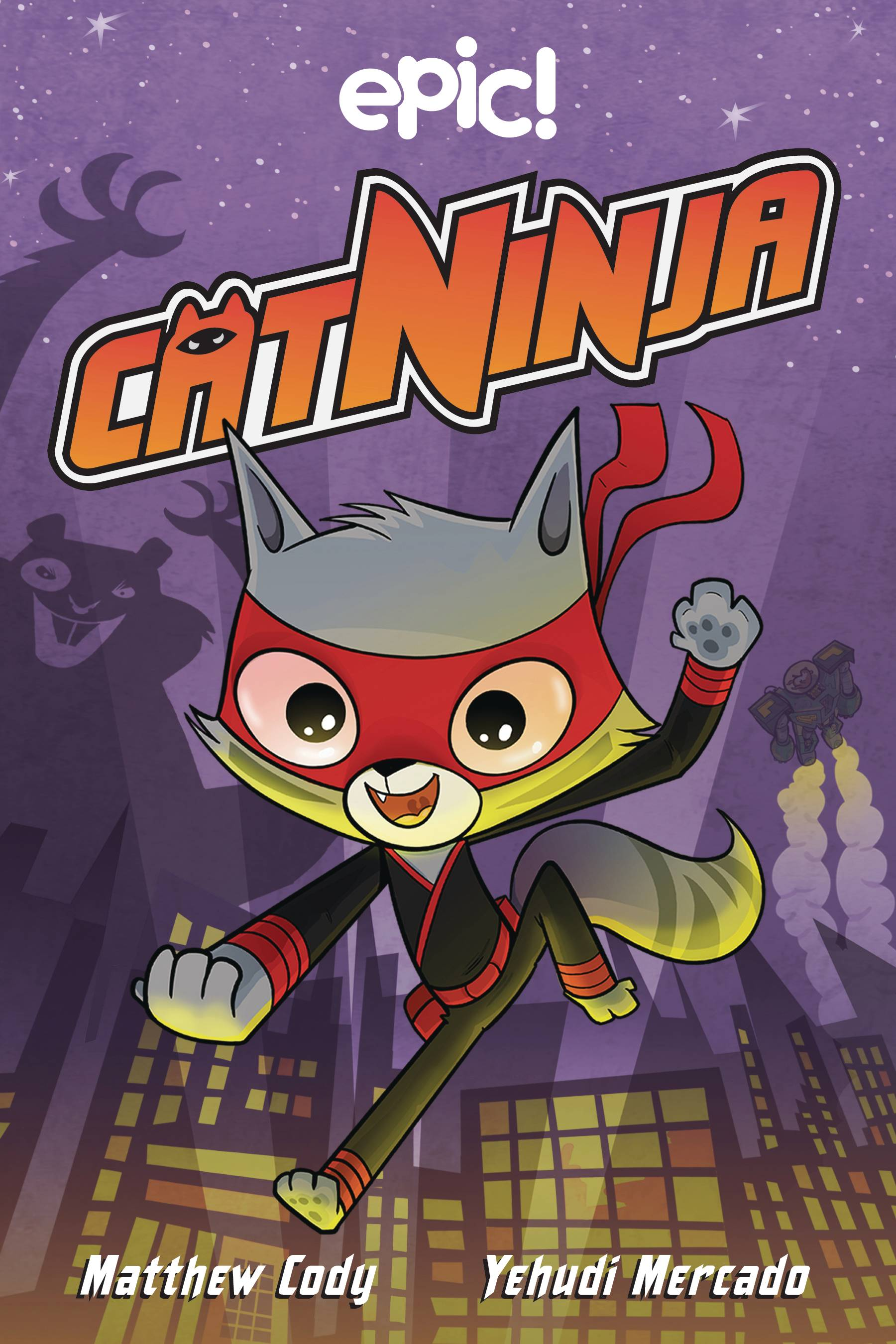 CAT NINJA HC 01