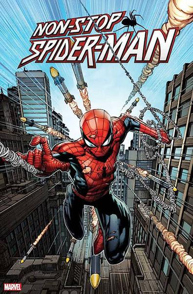 DF NONSTOP SPIDERMAN #1 BACHALO SGN