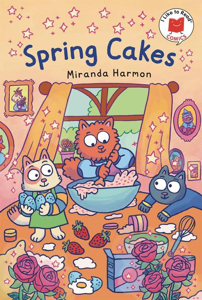 I LIKE TO READ COMICS TP SPRING CAKES