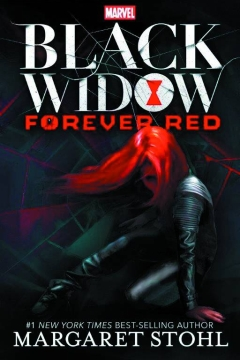 BLACK WIDOW YA NOVEL HC FOREVER RED