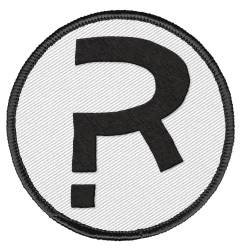 UMBRELLA ACADEMY PATCH RUMOR R LOGO