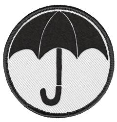 UMBRELLA ACADEMY PATCH UMBRELLA LOGO