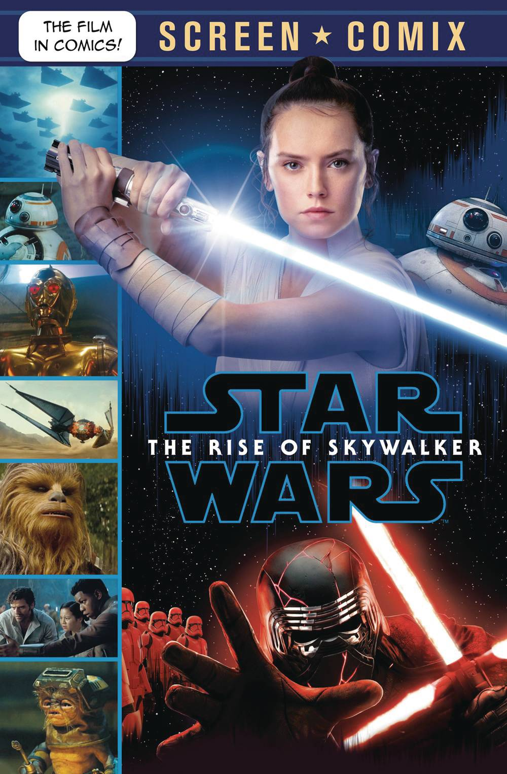 STAR WARS RISE OF SKYWALKER SCREEN COMIX TP 01