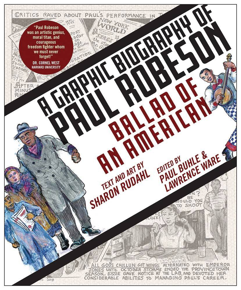 BALLAD OF AMERICAN GRAPHIC BIOGRAPHY PAUL ROBESON TP