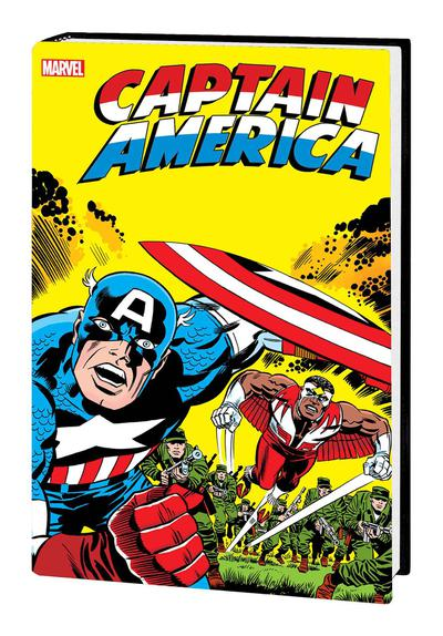 CAPTAIN AMERICA BY JACK KIRBY OMNIBUS HC