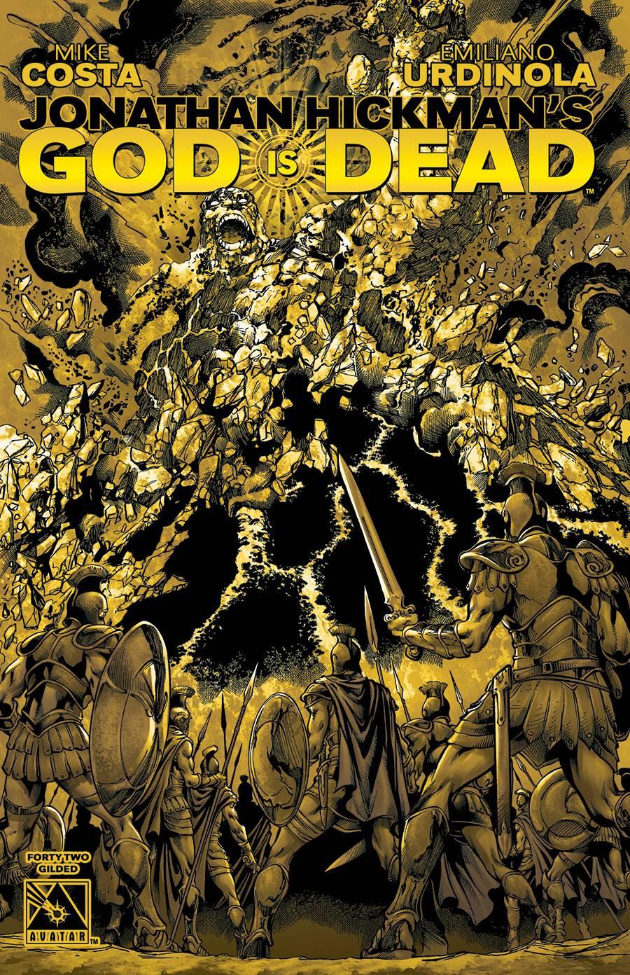 GOD IS DEAD GILDED VAR