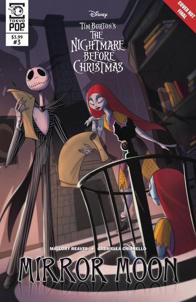 NIGHTMARE BEFORE CHRISTMAS MIRROR MOON