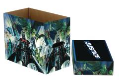 DC COMICS JUSTICE 5PK SHORT COMIC STORAGE BOX