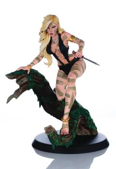 SHEENA QUEEN OF JUNGLE CAMPBELL NIGHT STALKER STATUE