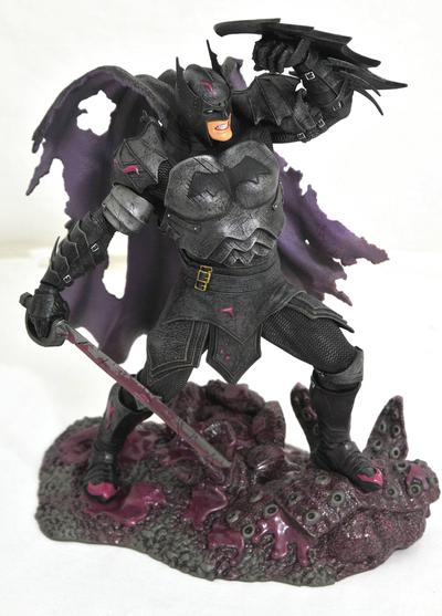 DC GALLERY COMIC METAL BATMAN PVC STATUE