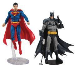 DC BATMAN/SUPERMAN 7IN SCALE WV1 AF ASST
