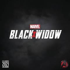 MARVEL BLACK WIDOW 2021 WALL CALENDAR