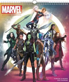 MARVEL HEROES SPECIAL ED 2021 WALL CALENDAR