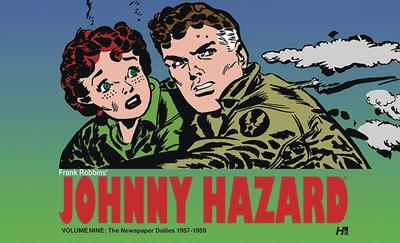 JOHNNY HAZARD DAILIES HC 09 1956- 1957