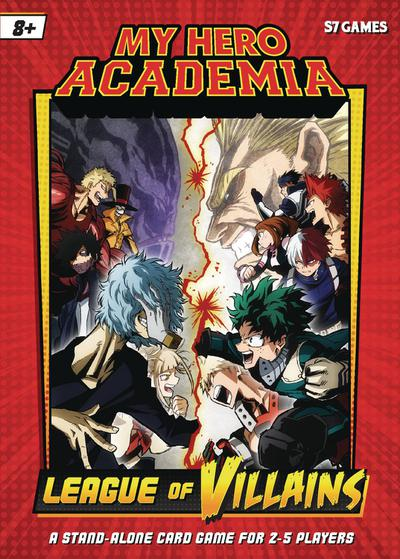 MY HERO ACADEMIA LEAGUE OF VILLAINS CARD GAME