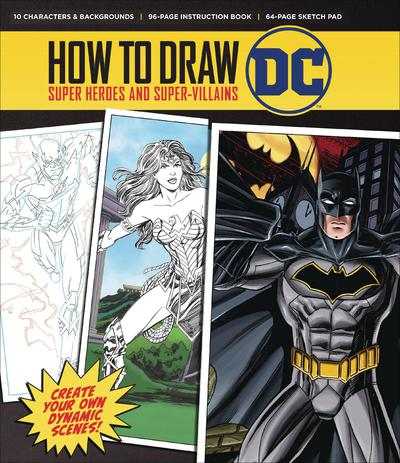 HOW TO DRAW DC SC