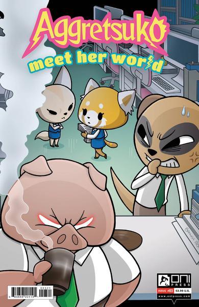 AGGRETSUKO MEET HER WORLD