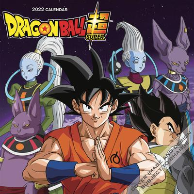 DRAGONBALL SUPER 2022 WALL CALENDAR