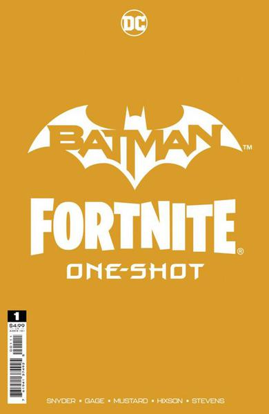 DF BATMAN FORTNITE ONESHOT #1 ELTIE CAPULLO GOLD SGN