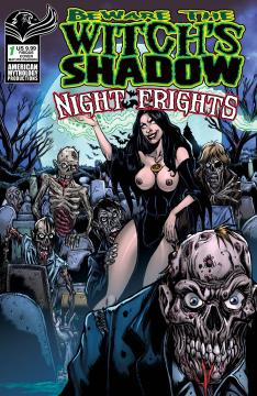 BEWARE THE WITCHS SHADOW NIGHT FRIGHTS CVR D RISQUE