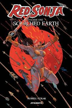 RED SONJA TP 01 SCORCHED EARTH