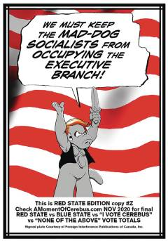 CEREBUS TP 02 HIGH SOCIETY REMASTERED RED STATE