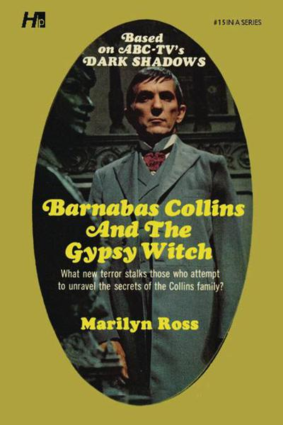 DARK SHADOWS PAPERBACK LIB NOVEL 15 BARNABAS  & GYPSY WI