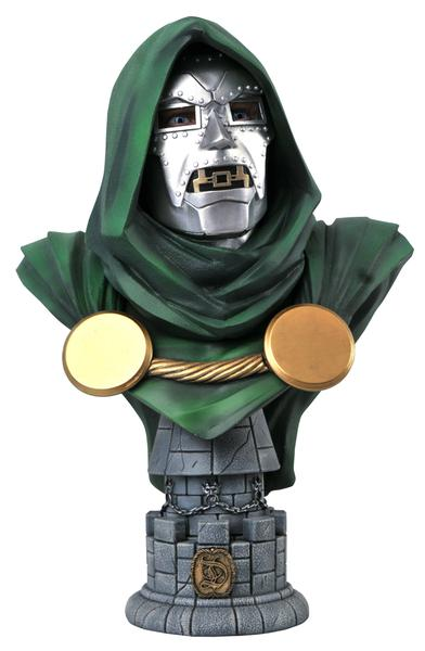 MARVEL LEGENDS IN 3D DR DOOM 1/2 SCALE BUST