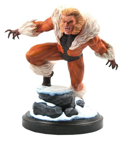 MARVEL PREMIER COLLECTION SABRETOOTH STATUE