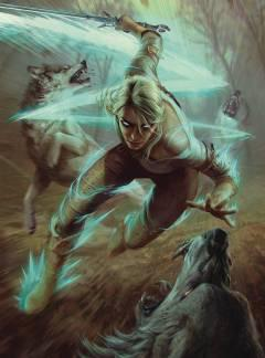 WITCHER 3 WILD HUNT 1000 PC DLX PUZZLE CIRI AND WOLVES