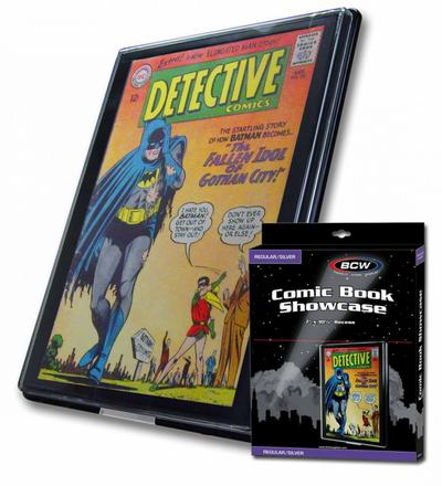 COMIC BOOK SHOWCASE SILVER BCW