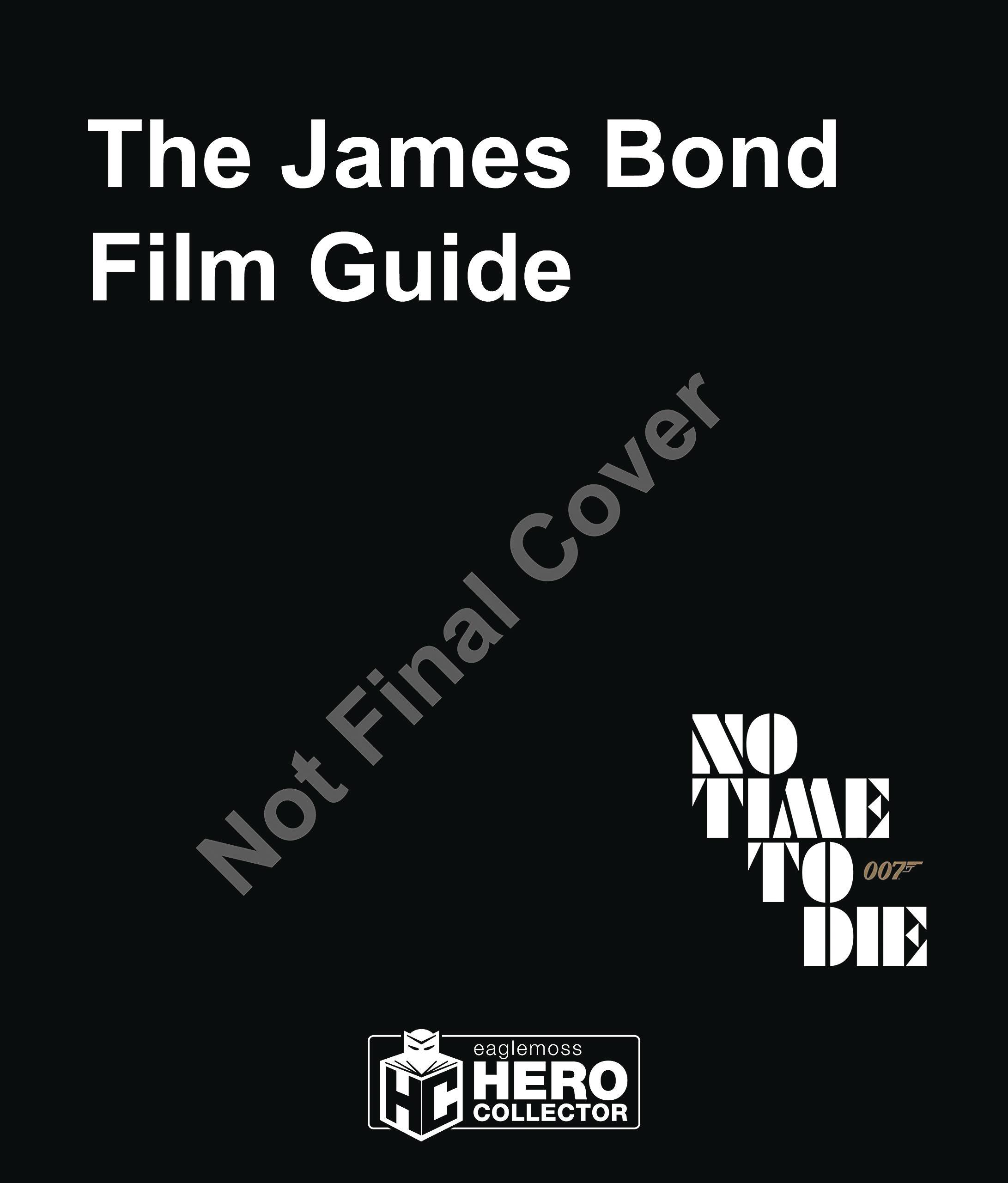 JAMES BOND FILM GUIDE OFF GT ALL 25 007 FILMS HC