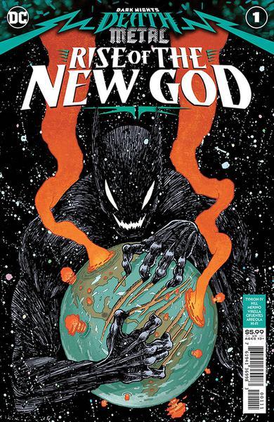 DF DARK NIGHTS DEATH METAL NEW GOD #1 TYNION IV SGN