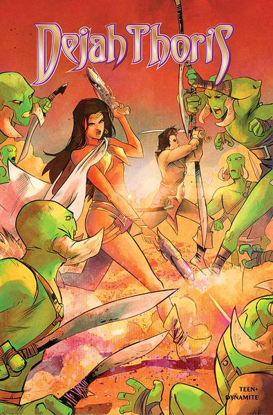 DEJAH THORIS WINTERS END ONE SHOT