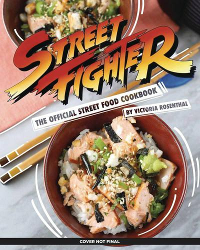 STREET FIGHTER OFF STREET FOOD COOKBOOK HC