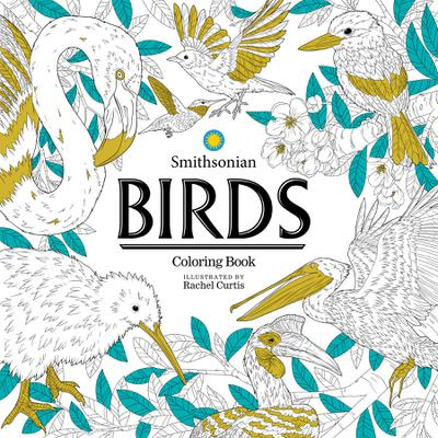 BIRDS SMITHSONIAN COLORING BOOK