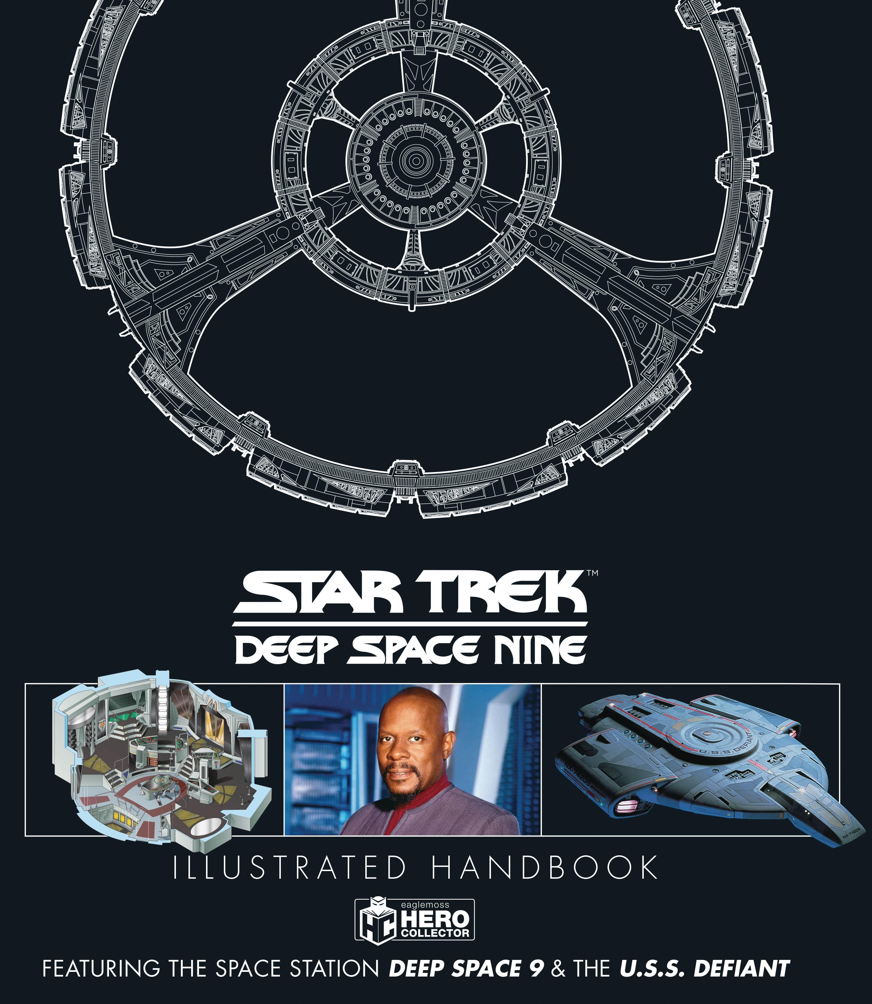 STAR TREK DS9 & USS DEFIANT ILLUS HANDBOOK HC