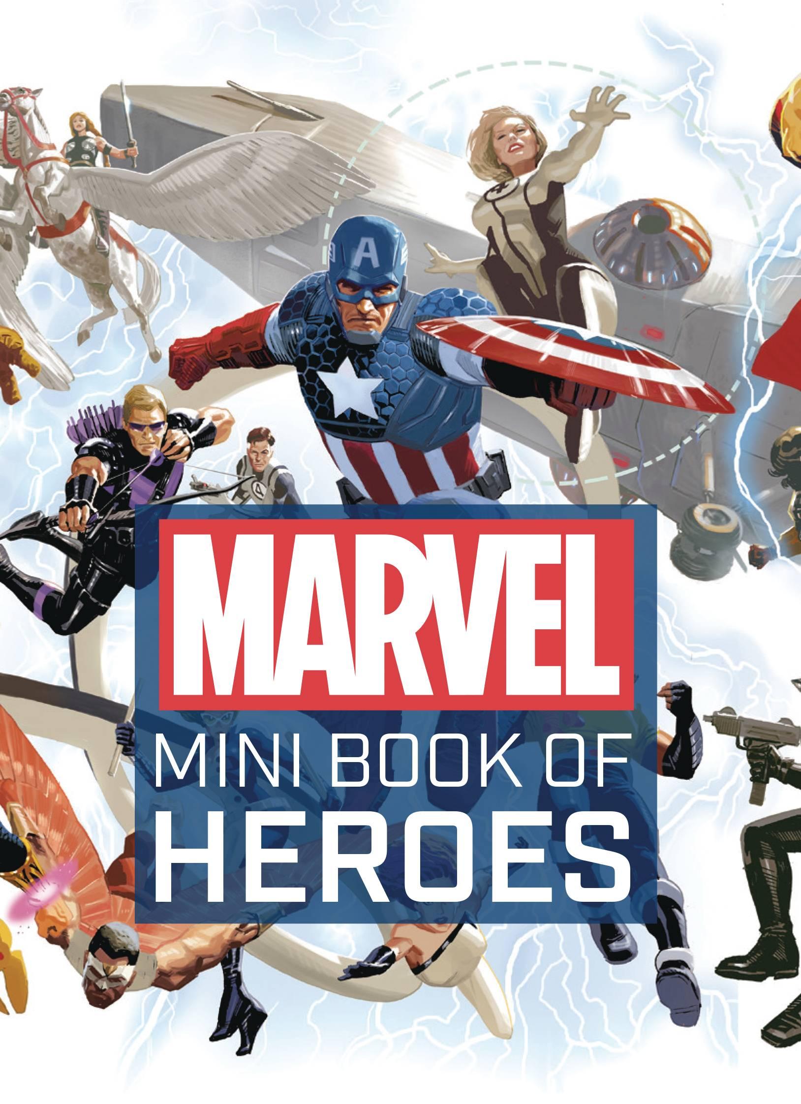 MARVEL COMICS MINI BOOK OF HEROES HC