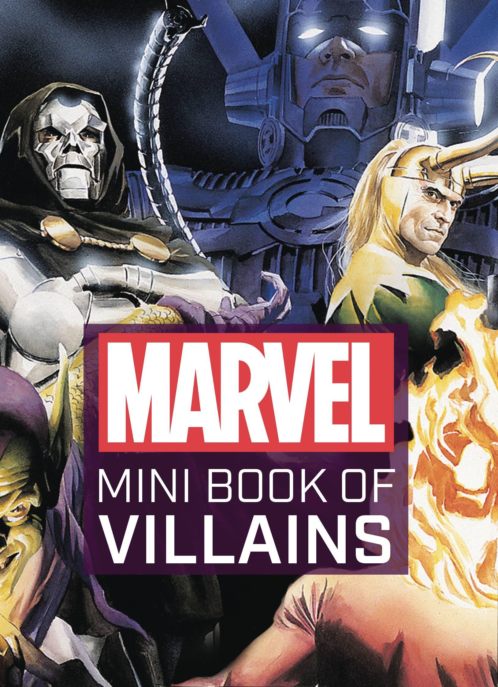 MARVEL COMICS MINI BOOK OF VILLAINS HC