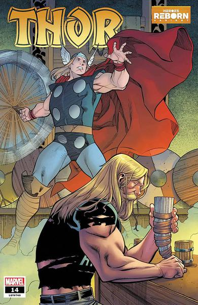 DF THOR #14 HEROES REBORN VAR CATES SGN